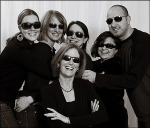 Judith Sargent Photography Staff having FUN!