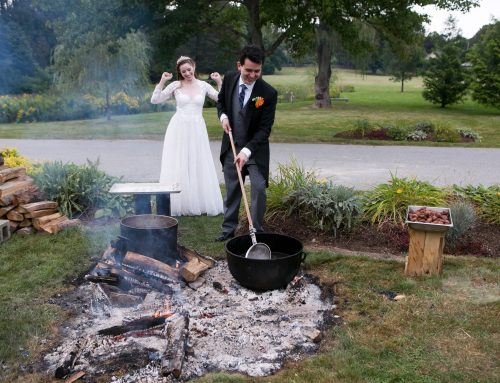 Wedding at the Pierce House